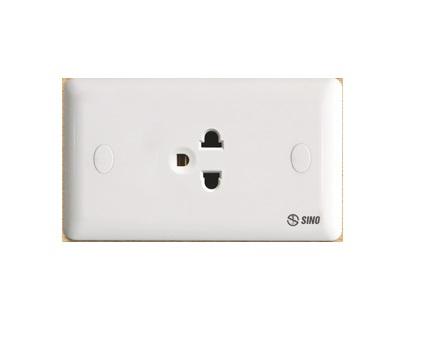 Ổ cắm điện đơn 3 chấu 16A SINO S1981E