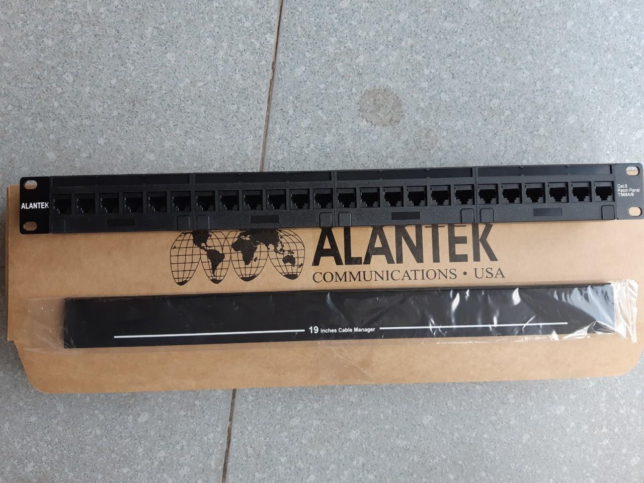 Patch Panel 24 port Cat6 ALANTEK  302-201601-24AB