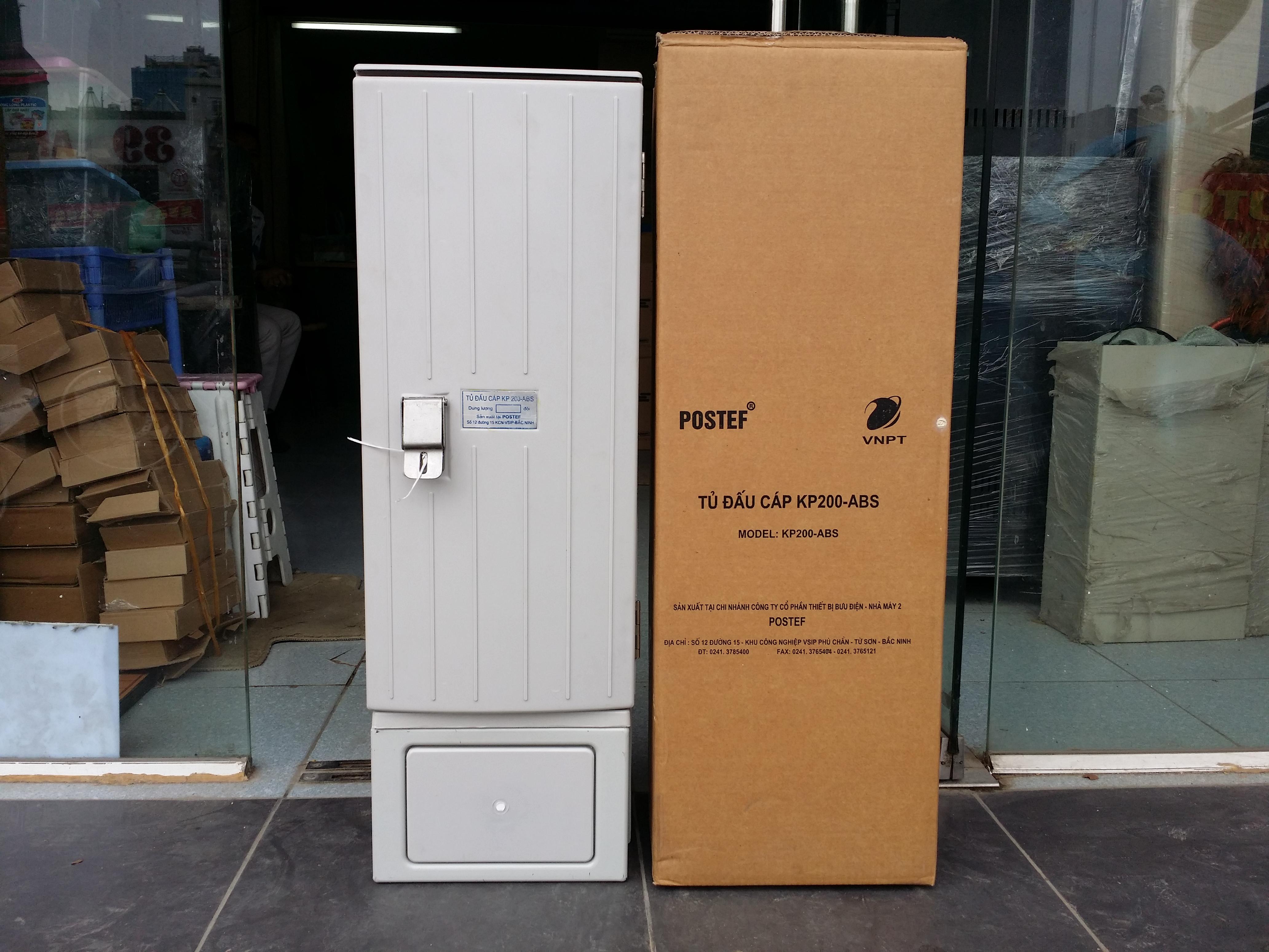 Tủ cáp điện thoại 200 đôi 200x2 | MDF 200 pair POSTEF KP200