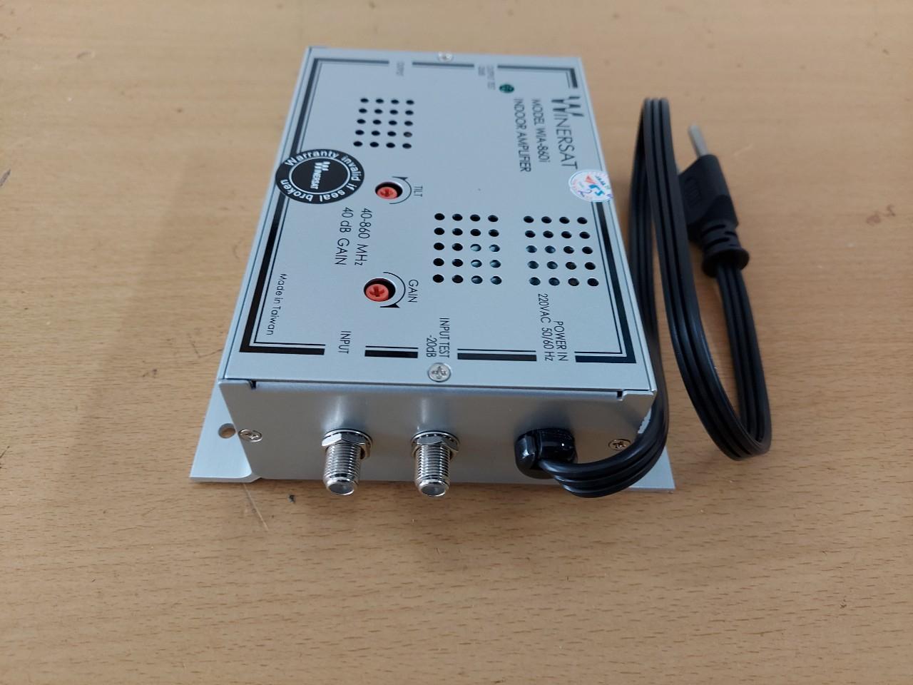 Bộ khuếch đại truyền hình cáp Winersat  WIA-860i