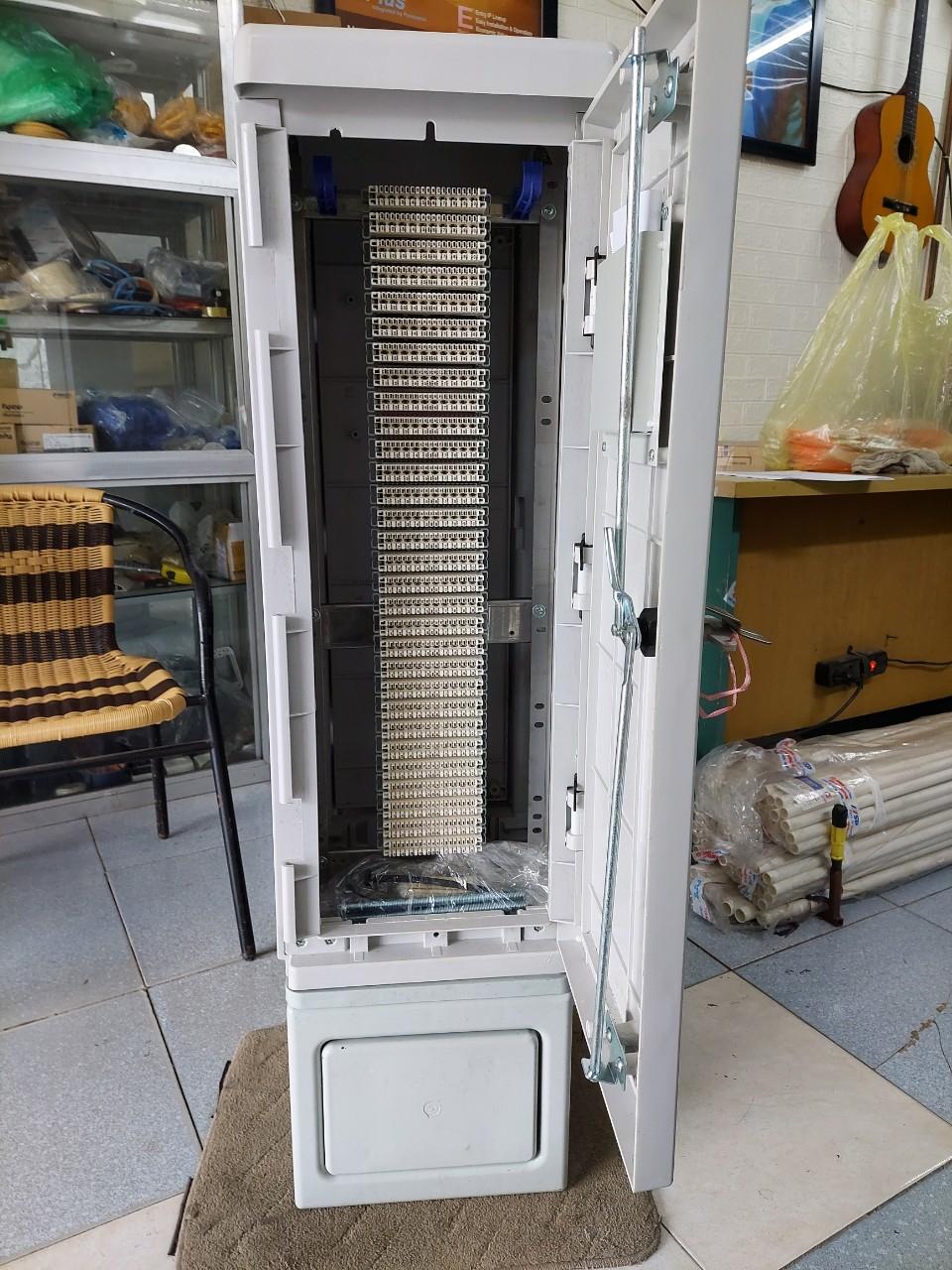 Tủ cáp điện thoại 300 đôi 300x2 | MDF 300 pair POSTEF KP300