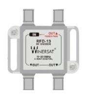 Bộ chia Winersat RFD-13 truyền hình cáp 3 đường tivi 1 ra 3