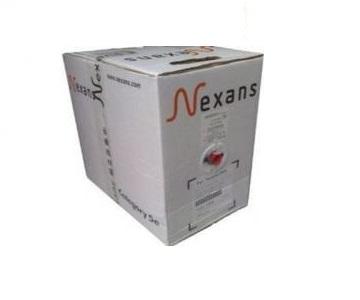 Dây cáp mạng Nexans Cat6 N100.165 UTP 4 pair 24AWG