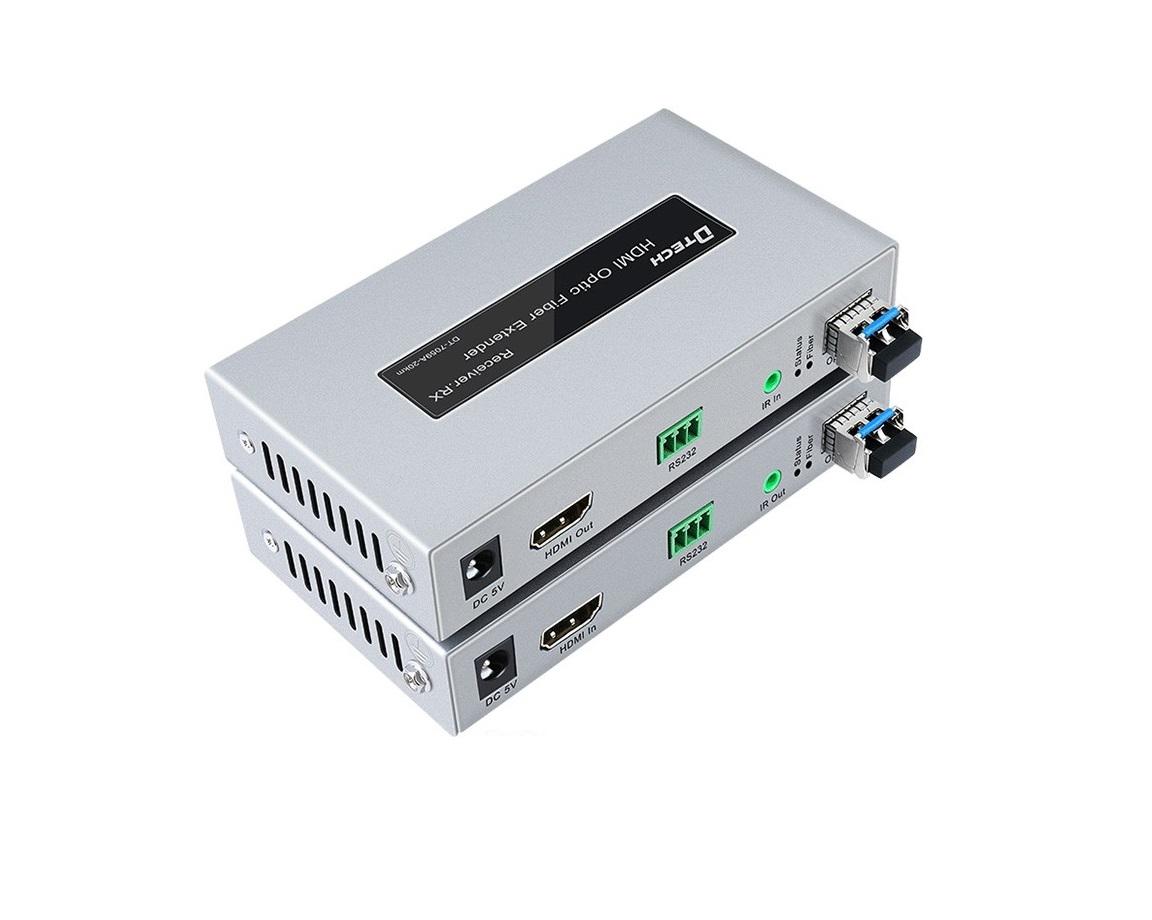 Bộ chuyển đổi HDMI sang quang DTECH DT-7059