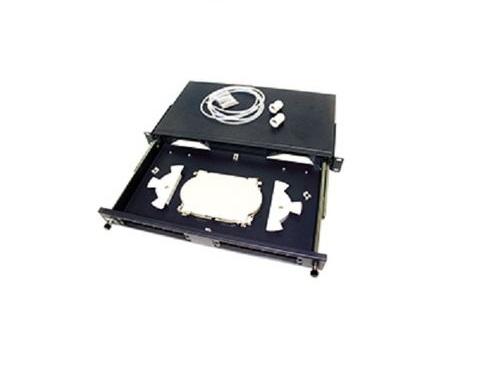 Hộp ODF quang 24FO, 24 core, 24 port ALANTEK 306-8R1UBN-0000 Singlemode