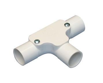 Cút nối chữ T D20 E246/20 có nắp ống phi 20 SP Vanlock