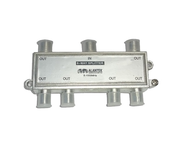 Bộ chia ALANTEK 308-ISPV06-0000 6 Way CATV Indoor Splitter