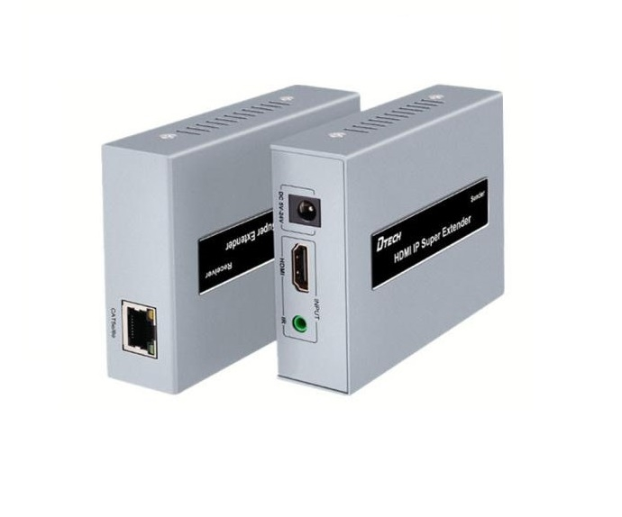 Bộ khếch đại chuyển đổi HDMI sang LAN RJ45 120m DTECH DT-7046