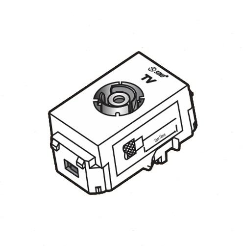 Ổ cắm Anten Tivi SINO Vanlock S18CCTV