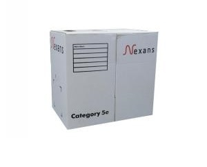 Cáp mạng Nexans Cat5e N100.561 UTP 4 pair