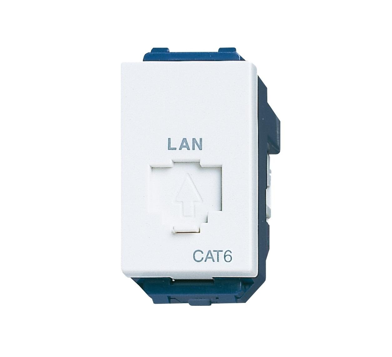 Ổ cắm mạng CAT6 Panasonic WEV24886SW