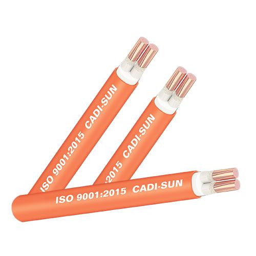 Cáp chống cháy FRN-CXV 2x2.5 CADISUN Cu/Mica/XLPE/FR-PVC 0.6/1kV