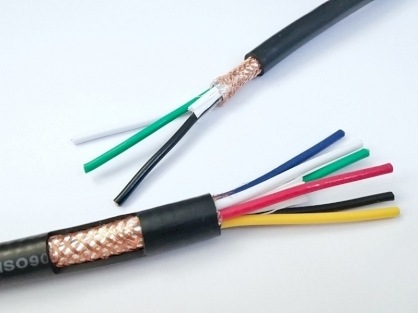 Cáp điều khiển SANGJIN 8x1.5mm2 có lưới chống nhiễu