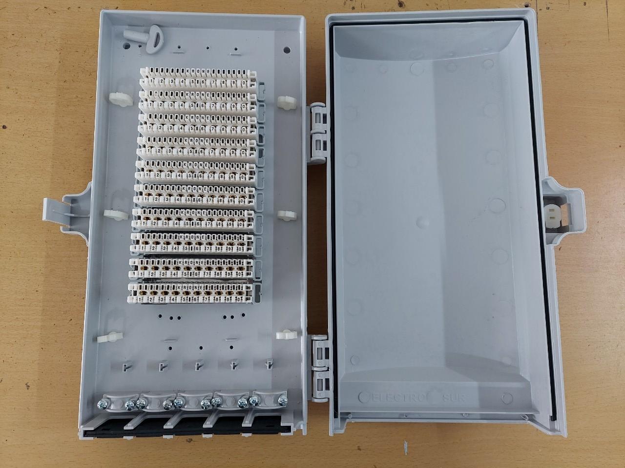 Hộp cáp điện thoại 70 đôi 70x2   MDF IDF 70 pair POSTEF HC1