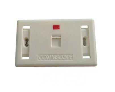 Mặt ổ cắm 1 cổng Commscope 272368-1