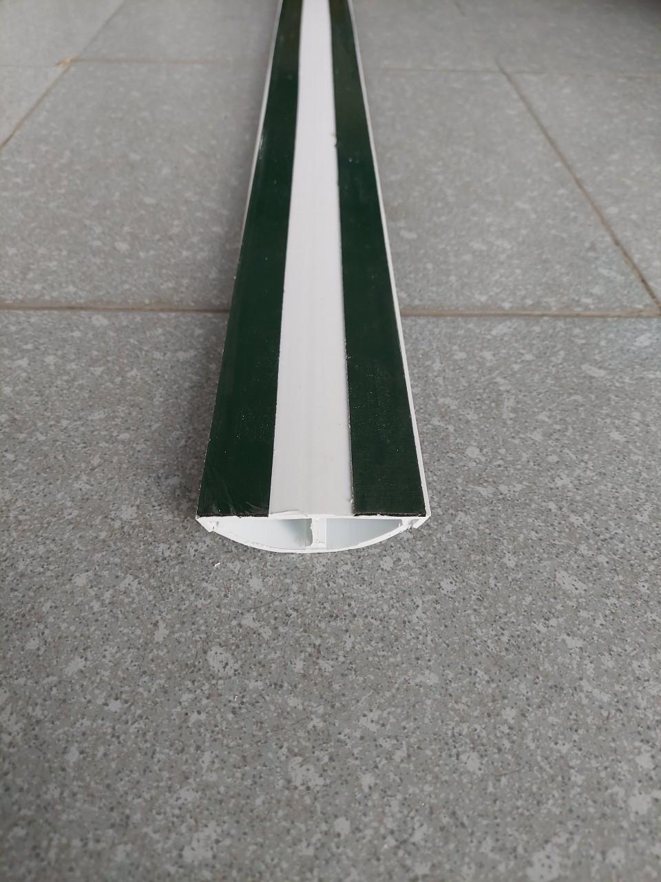 Ghen bán nguyệt, nẹp sàn bán nguyệt D80 80x22 TIẾN PHÁT