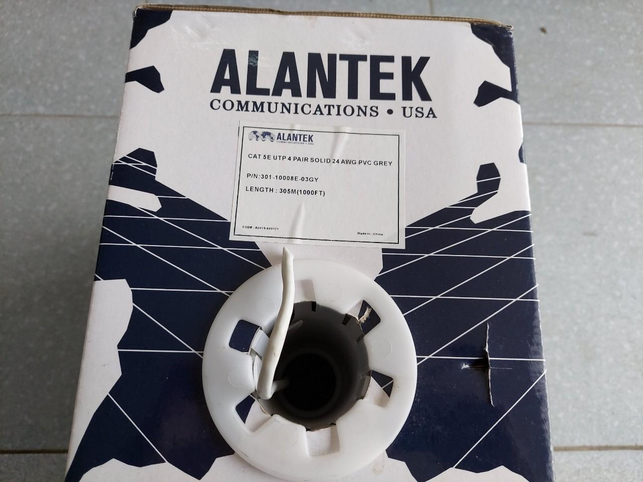 Cáp mạng ALANTEK Cat5e UTP 4 pair 301-10008E-03GY