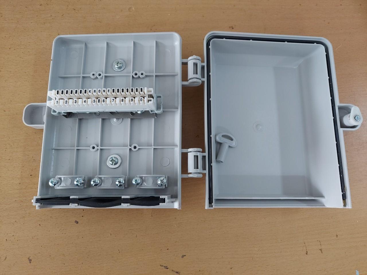 Hộp cáp điện thoại 10 đôi 10x2 | MDF IDF 10 pair POSTEF HC2TM