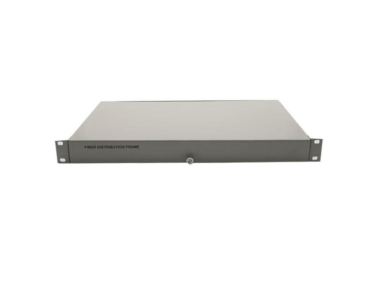 Hộp phối quang ODF 8FO, 8 core, 8 port lắp Rack ODF-RF24 Single mode