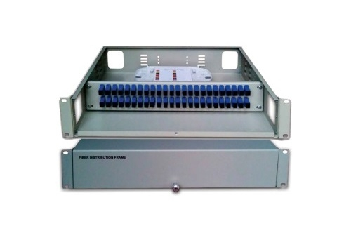 Hộp phối quang ODF 48FO, 48 core, 48 port ODF-RF48 Single mode