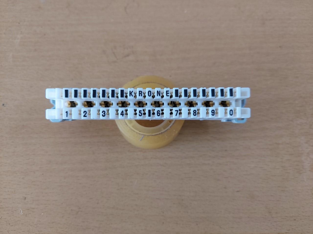 Phiến đấu dây điện thoại KRONE 10 đôi LSA PLUS