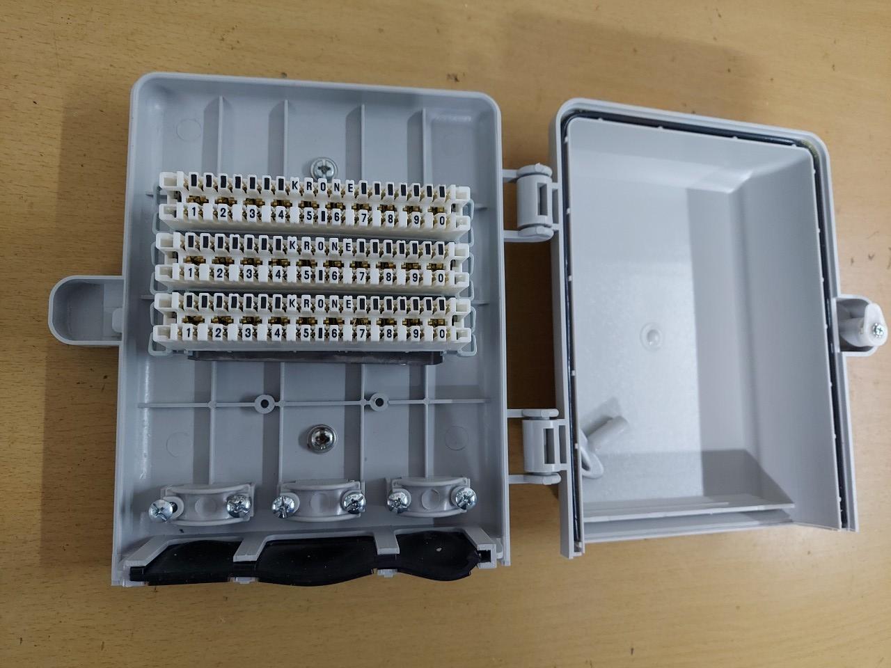 Hộp cáp điện thoại 30 đôi 30x2 | MDF IDF 30 pair POSTEF HC2TM