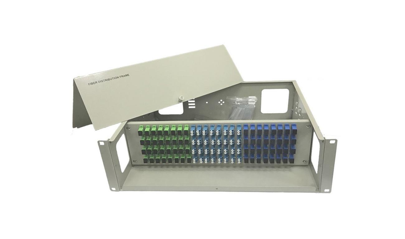 Hộp phối quang ODF 96FO, 96 core, 96 port ODF-RF48 Single mode