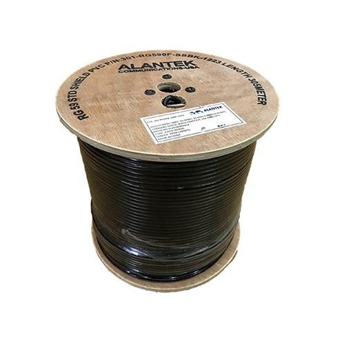 Cáp đồng trục RG6 dầu chống ẩm ALANTEK 301-RG060F-SSBK-1223