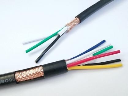 Cáp điều khiển SANGJIN 8x0.5mm2 có lưới chống nhiễu