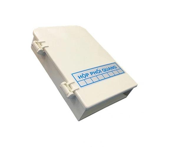 Hộp phối quang ODF 8FO, 8 core, 8 port vỏ nhựa OTB-08C Single mode