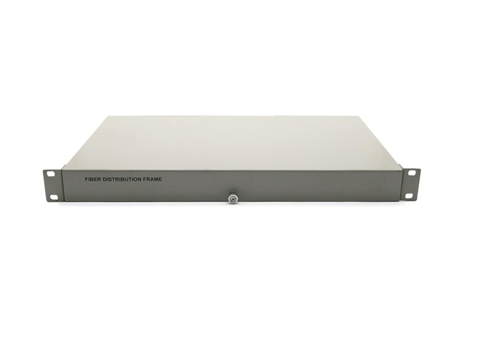 Hộp phối quang ODF 4FO, 4 core, 4 port lắp Rack ODF-RF24 Single mode