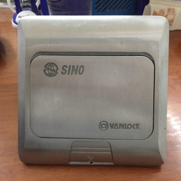 Ổ cắm âm sàn SINO P001/1/NH/A mạng Lan, điện thoại