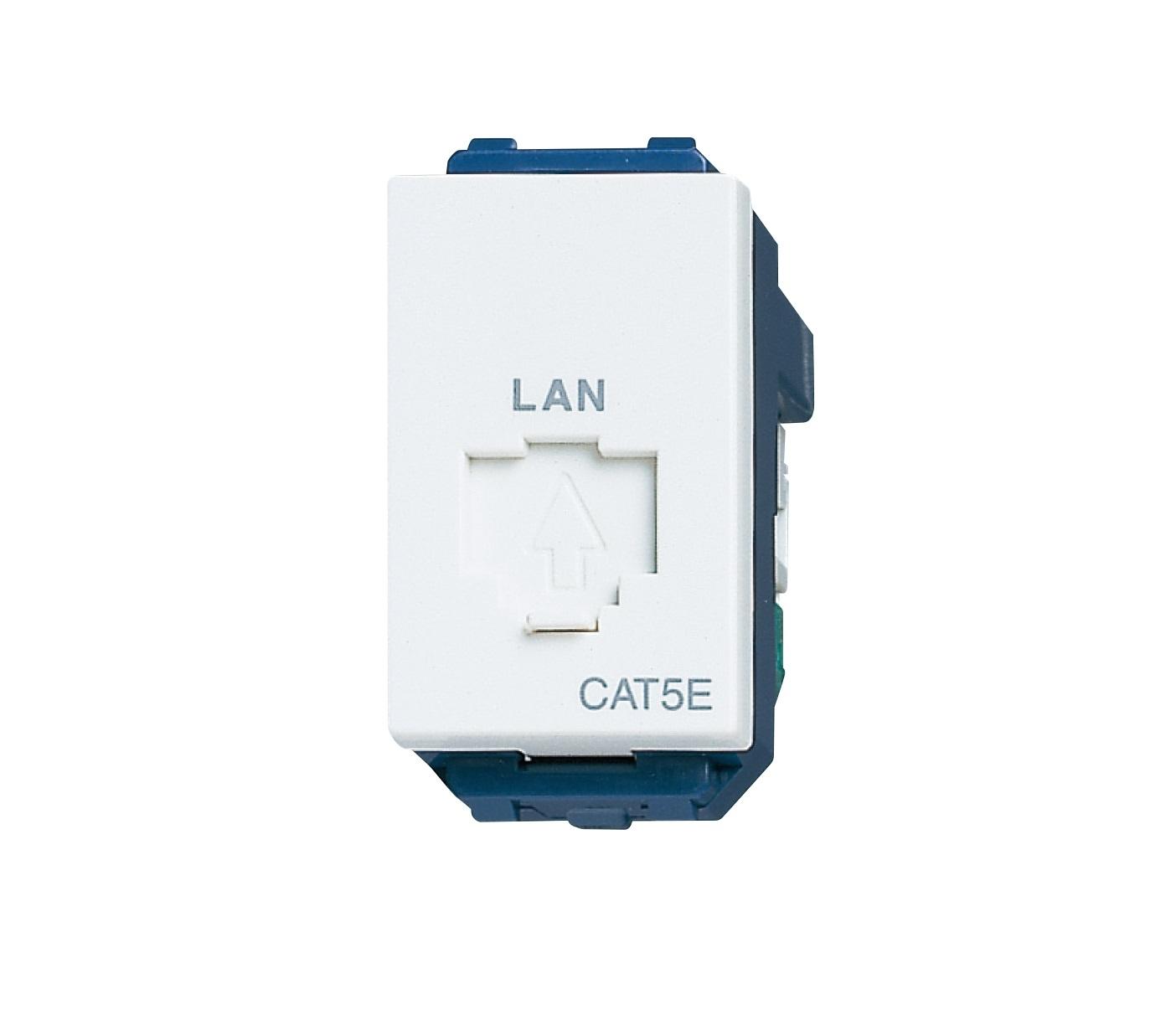 Ổ cắm mạng CAT5 Panasonic WEV2488SW