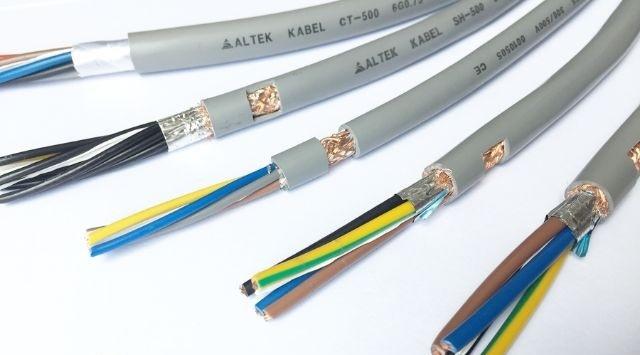Cáp điều khiển 10x0.75 Altek Kabel SH-500 10G 0.75 QMM chống nhiễu