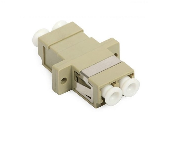 Adapter quang LC/UPC duplex Multimode, đầu nối quang LC-LC