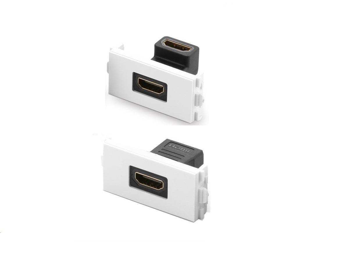 Nhân ổ cắm HDMI, đầu nối HDMI Wallplate âm tường, âm sàn