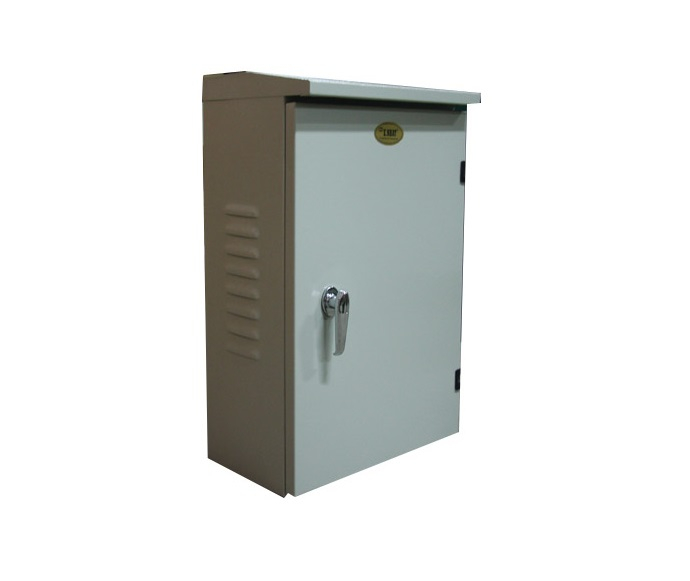 Tủ điện ngoài trời 800x600x300 có mái che chống nước E Nhất
