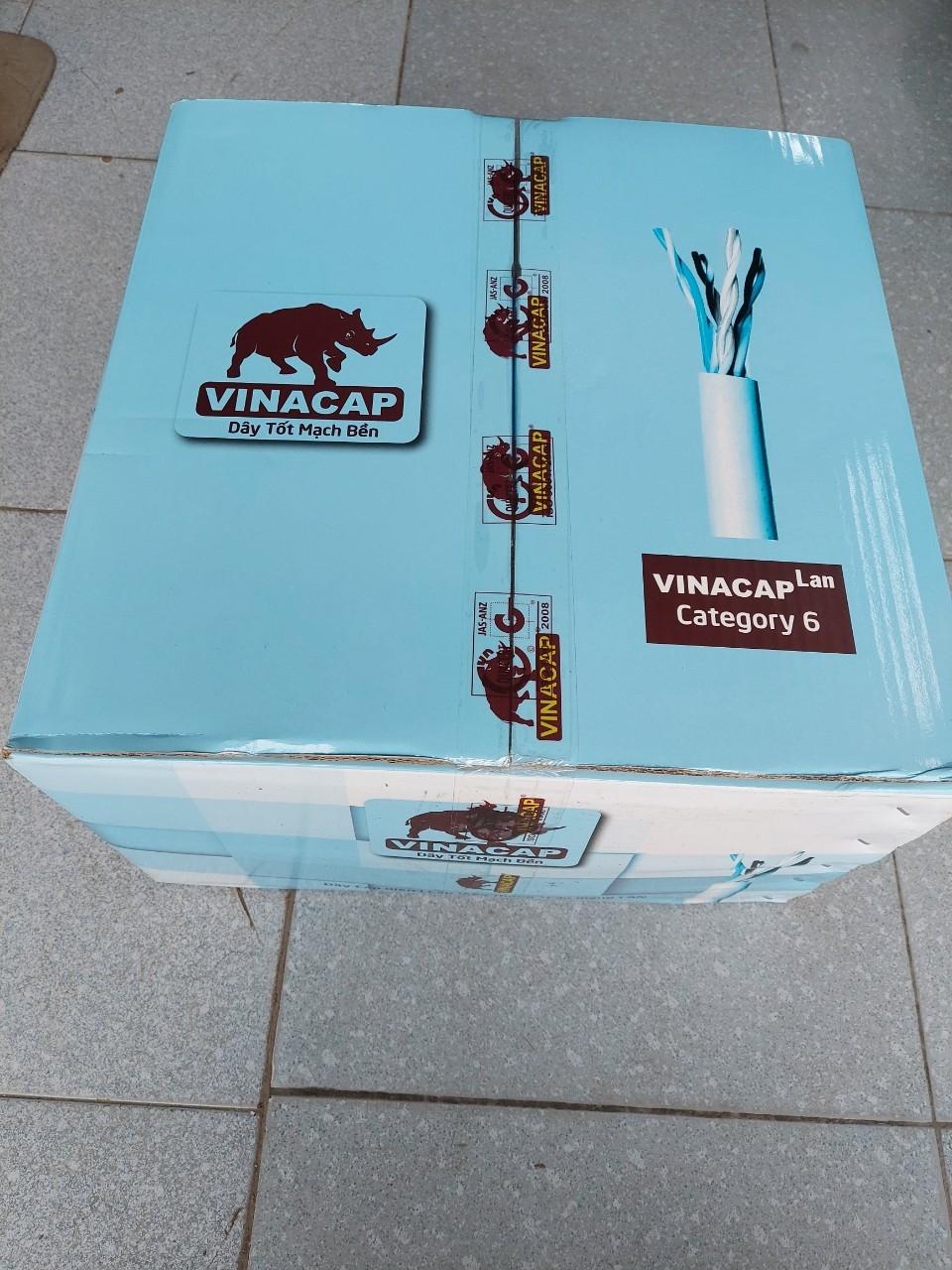 Cáp mạng VINACAP Cat6 UTP 4 đôi