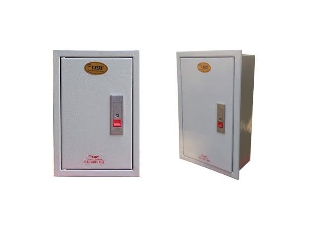 Tủ điện âm tường 350x220x120 E NHẤT lắp chìm