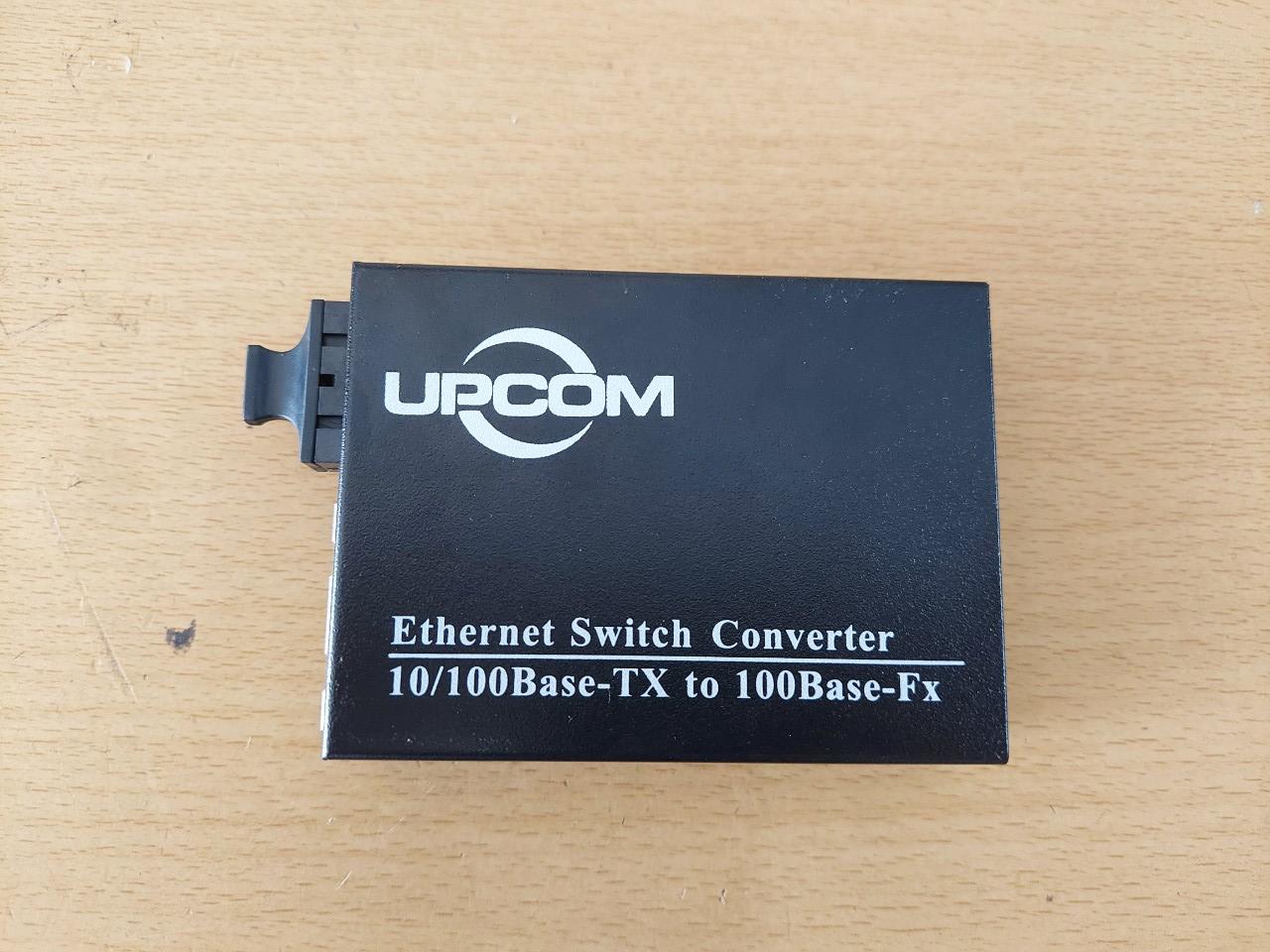 Bộ chuyển đổi quang 2 cổng RJ45 10/100M UPCOM MC102-M-2