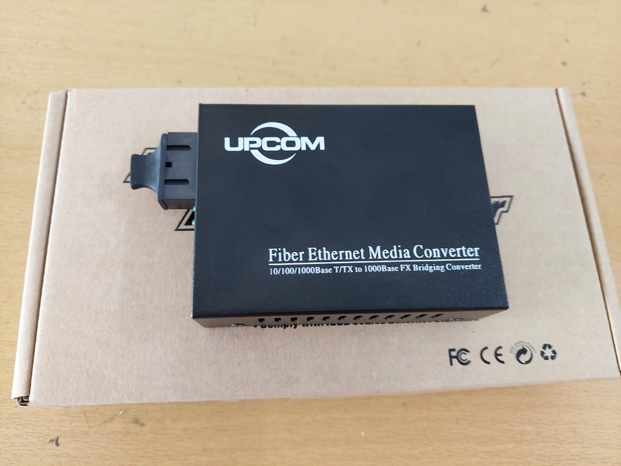 Bộ chuyển đổi quang điện UPCOM MC201-S-20 (10/100/1000M, Single mode)